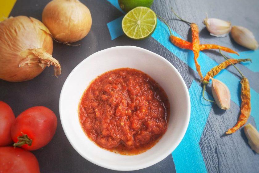salsa per i nachos