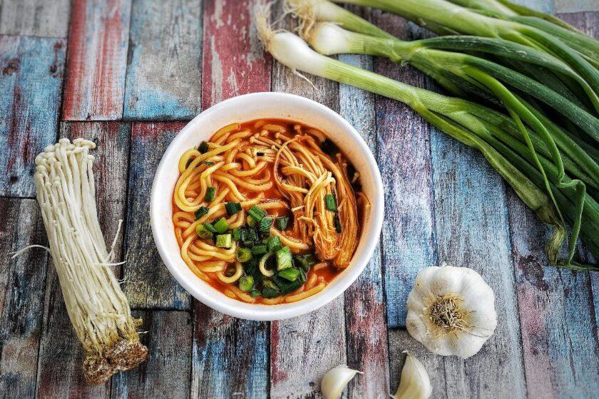 ricetta zuppa coreana