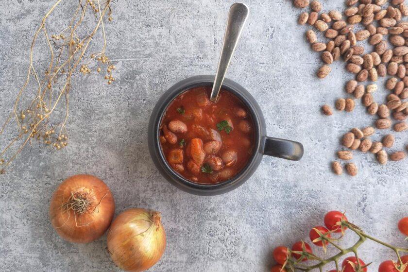 ricetta della zuppa di fagioli