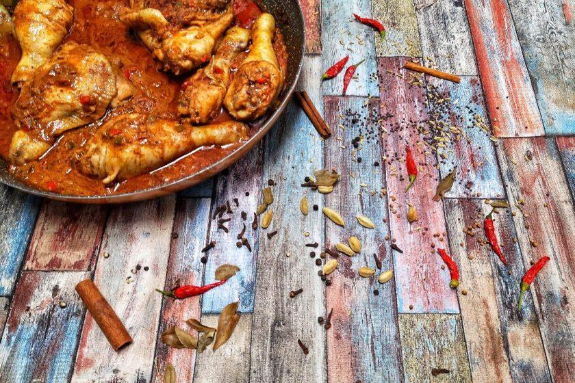 ricetta curry shrilanka