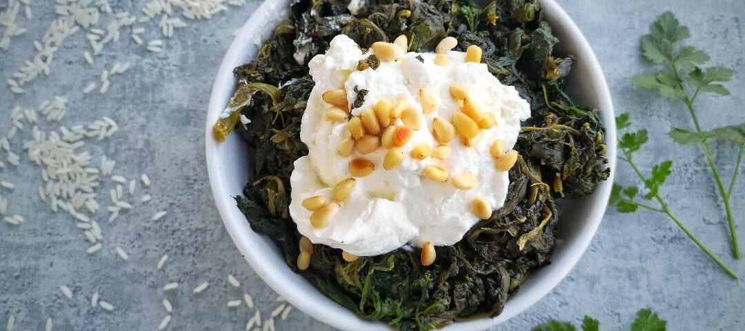 ricetta riso e spinaci libanese