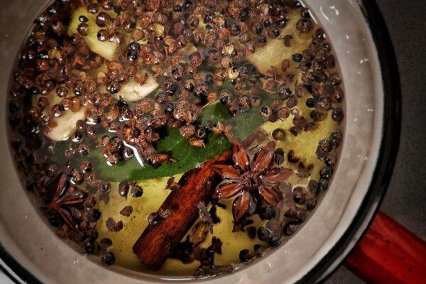 ricetta olio piccante aromatico